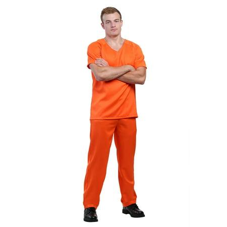 Men's Orange Prisoner Costume (Prisoner Costume Women)
