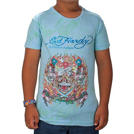 Ed Hardy Kids Girls Tiger T-Shirt