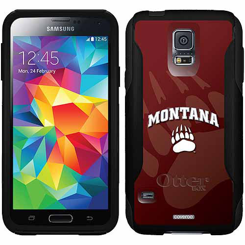 Montana Grizzlies Watermark Design on OtterBox Commuter Series Case for Samsung Galaxy S5