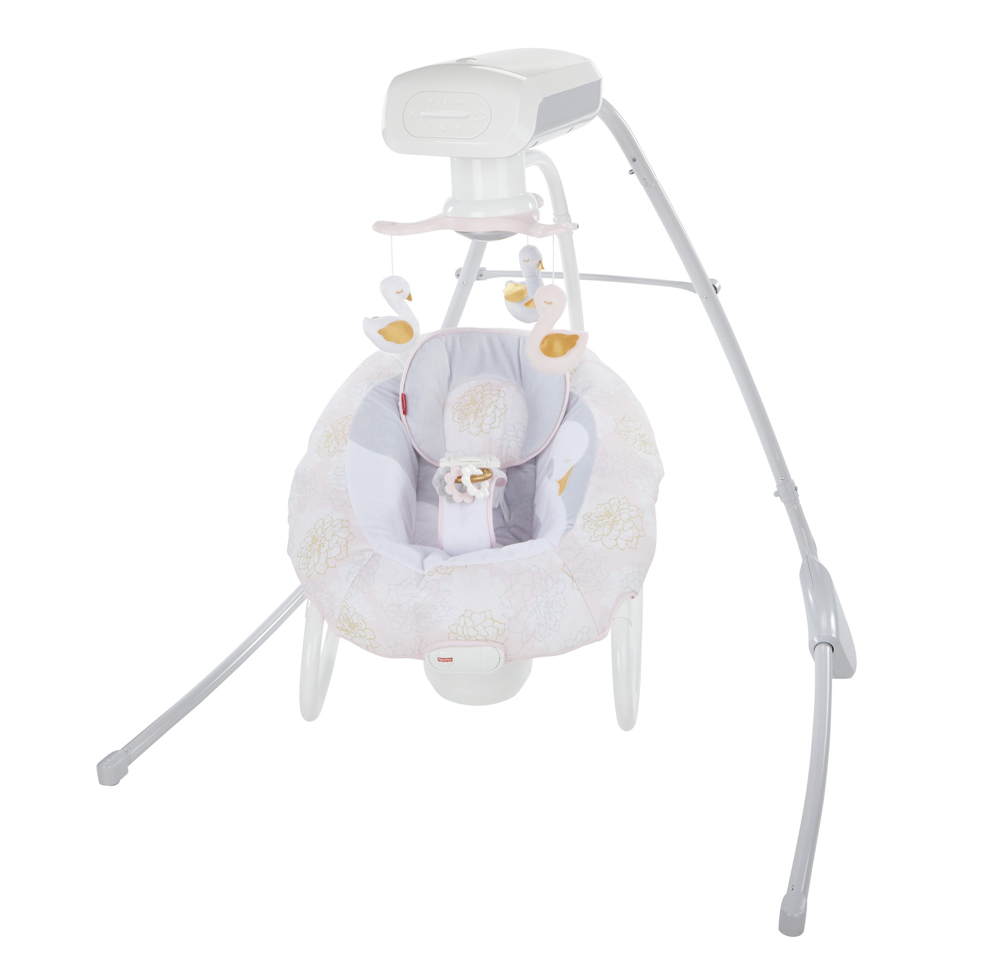 Fisher Price My Sweet Swan 2-in-1 Deluxe Cradle 'n Swing by Fisher-Price