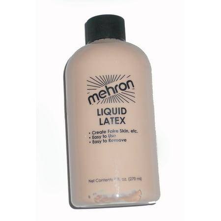 Liquid Latex Mehron 117 - White (Clear),1
