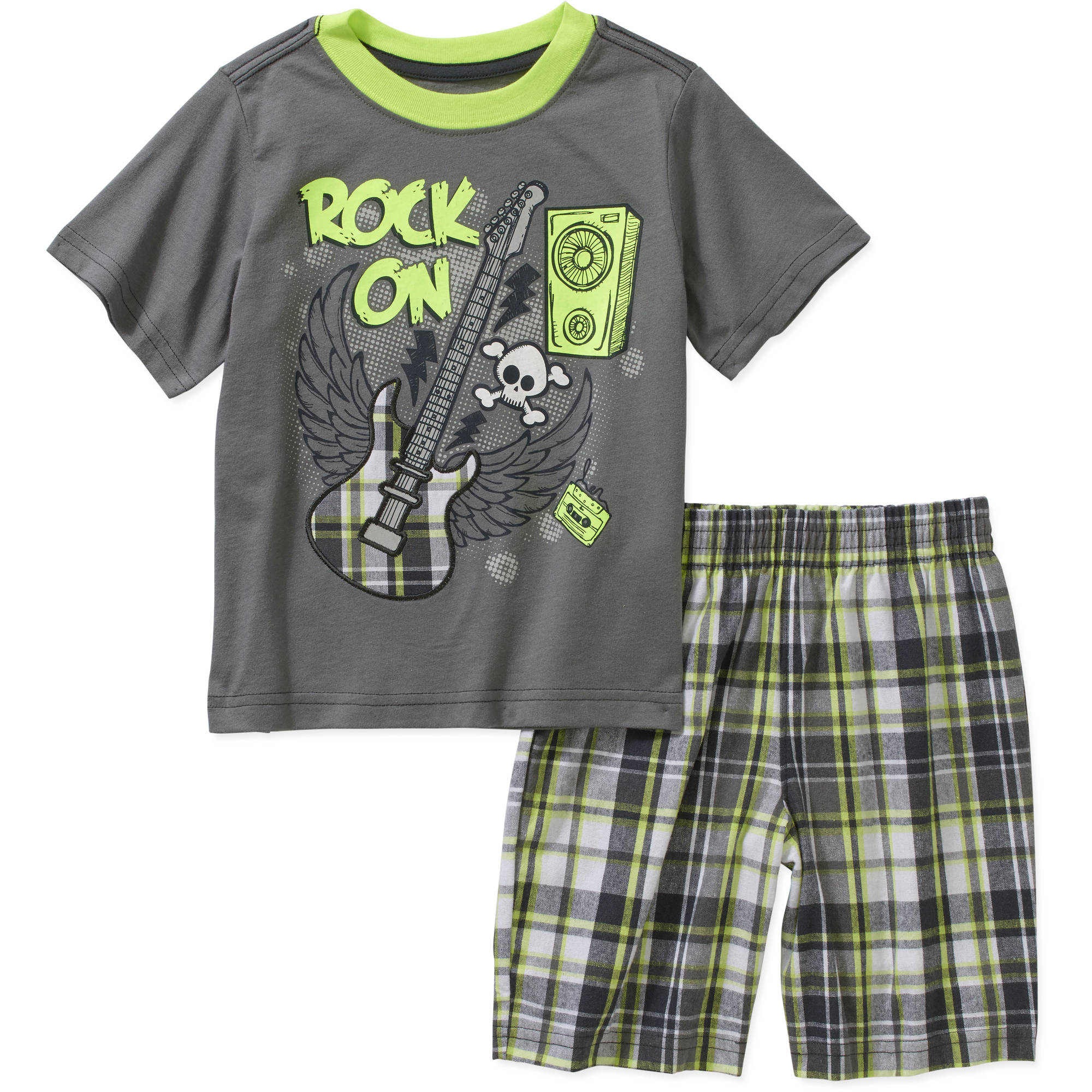 Healthtex Toddler Boy Graphic Tee and Shorts Outfit Set