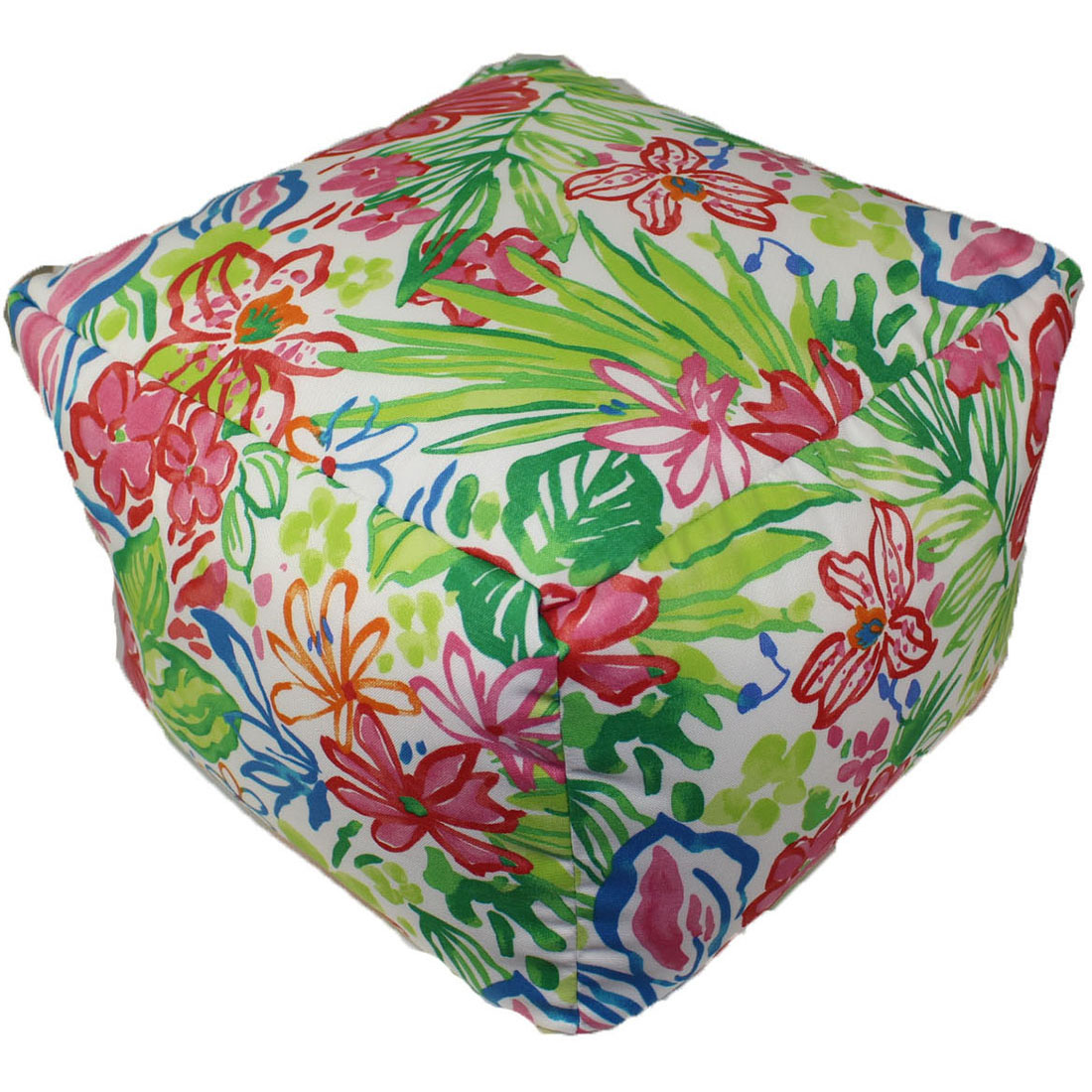 """lava Lily Indoor Outdoor Pouf, 16"""" x 12"""" by Lava"""