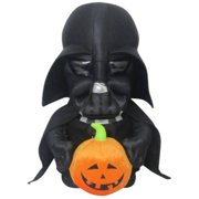 GEMMY HOLIDAY GREETER Star Wars DARTH VADER WITH PUMPKIN