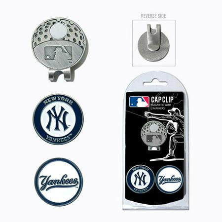 89c874ed481ddb Team Golf MLB New York Yankees Cap Clip With 2 Golf Ball Markers -  Walmart.com
