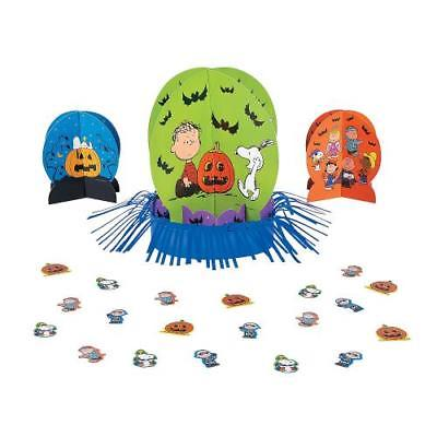 IN-13746261 Peanuts Halloween Table Decorating Kit  By Fun Express