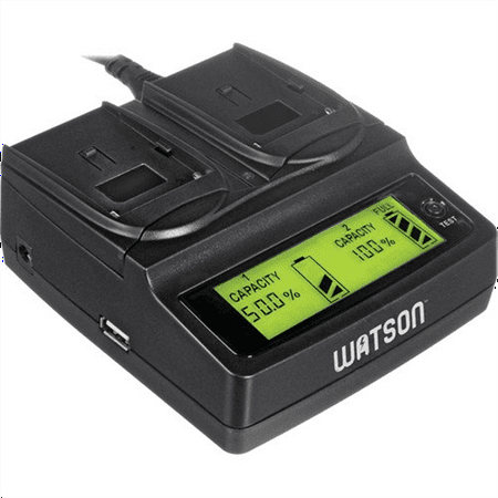Watson Duo LCD Charger for P, H & V Series Batteries - So...