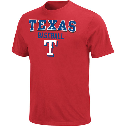 MLB Big Men's Texas Rangers  Team Tee