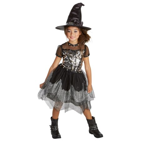 Silver Rock Witch Child Costume (Kids Good Witch Costume)
