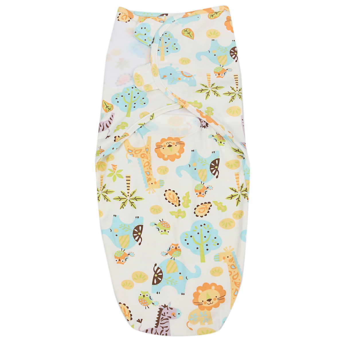Brand 0-12 Months new Baby Infant 100% Cotton Swaddle Wrap Swaddling Blanket