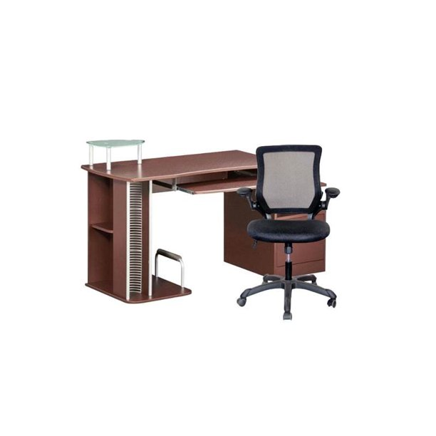 2 Piece Office Set with Computer Desk and Chair - Walmart.com