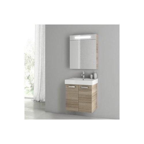 """Image of ACF Bathroom Vanities Cubical 2 24"""" Single Bathroom Vanity Set"""