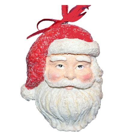 Hallmark Direct Imports 1DIR4453 Santa Face Ornament - Import Direct