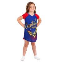 Girls' Captain Marvel Pajama Nightgown (Little Girl & Big Girl)