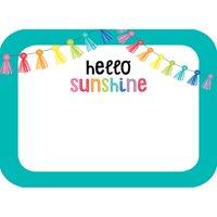 Hello Sunshine Name Tags