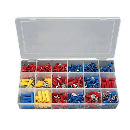 Stanz (TM) 300Pcs Assorted Crimp Terminal Set Insulated Electrical Wiring Connector Kit - image 5 de 5