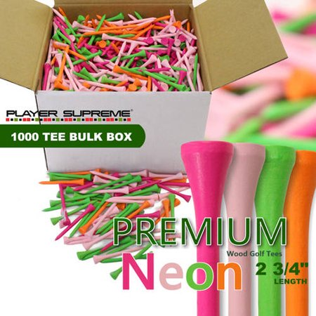 Player Supreme PREMIUM 1000 Tee Bulk Box 2-3/4