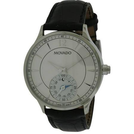 Movado Circa Motion Leather Smartwatch Mens Watch 0660007