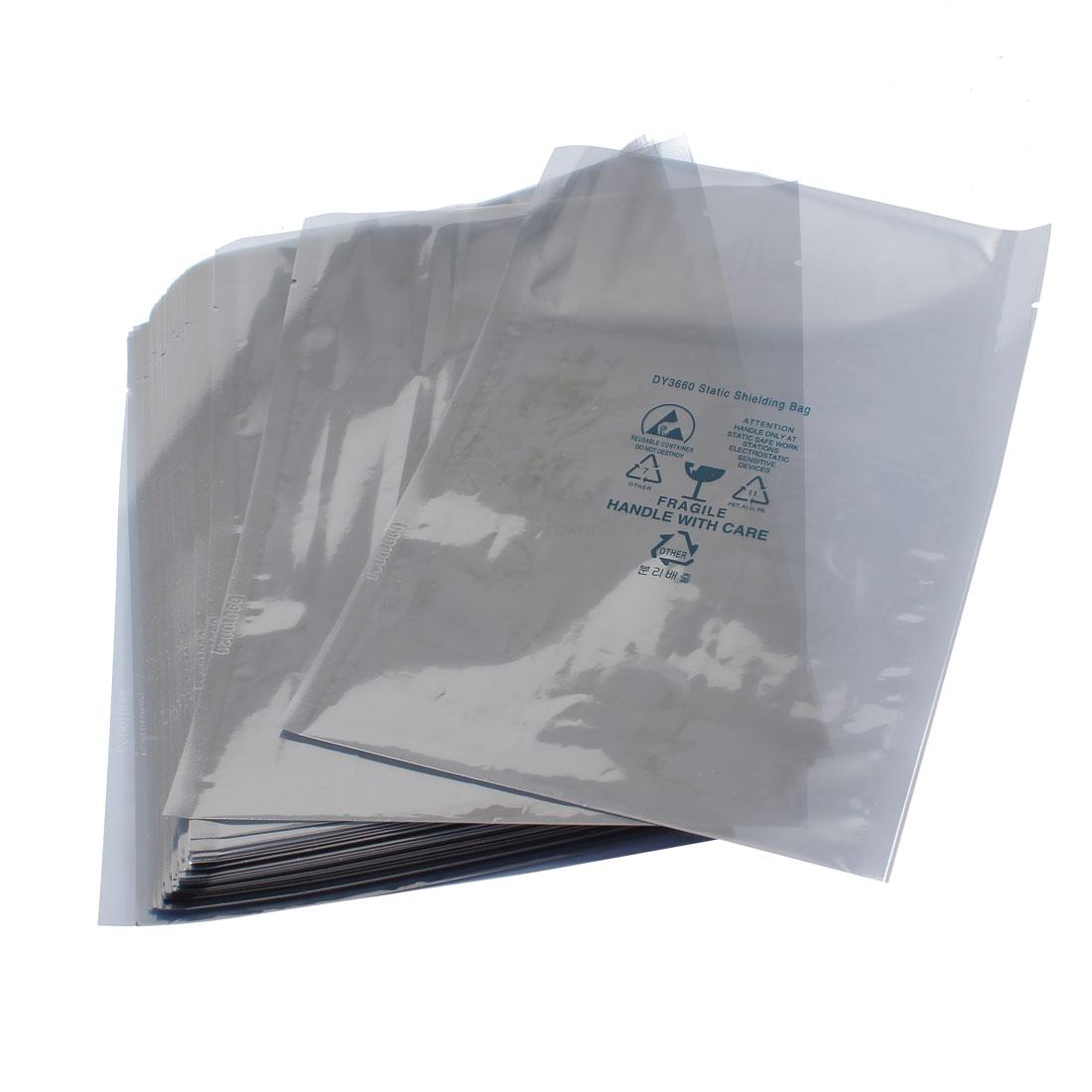 "Unique Bargains 50 Pcs 6"" x 8"" ESD PCB Board Anti-Static Shielding Bags"