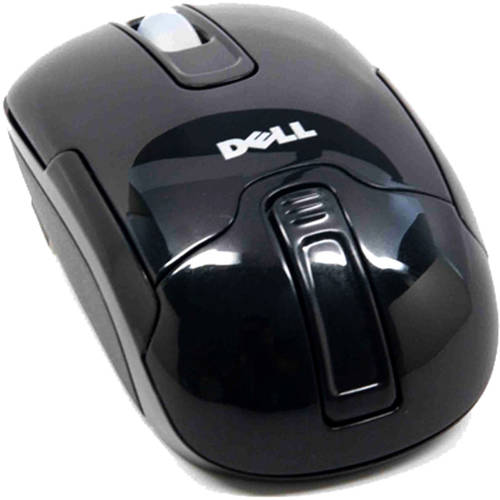 Dell 3-Button Wireless Laptop Optical Scroll Mouse WM210