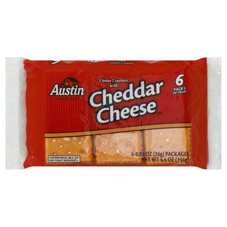 Austin Cheddar Cheese Crackers: Calories, Nutrition ...  |Austin Cheddar Cheese