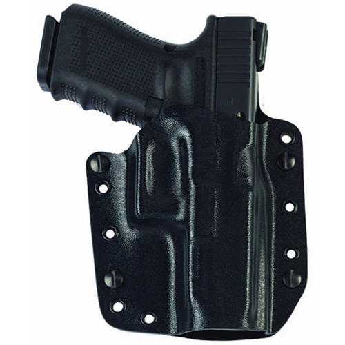 Galco Corvus Belt IWB Holster, Fits Glock 19 23 32, Right Hand, Black Kydex by Galco