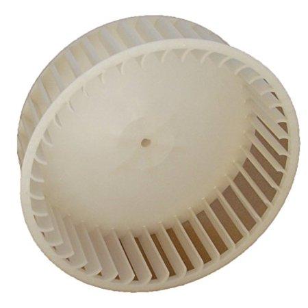 "6"" Plastic Blower Wheel 1/4"" Bore for Bath Fan # 5900RDC (5901A000)"