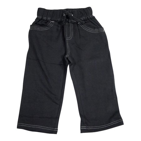 - Mish Mish Toddler & Little Boys Fashion Pants SZ 2T - 7, 34537 Black Fleece / 3
