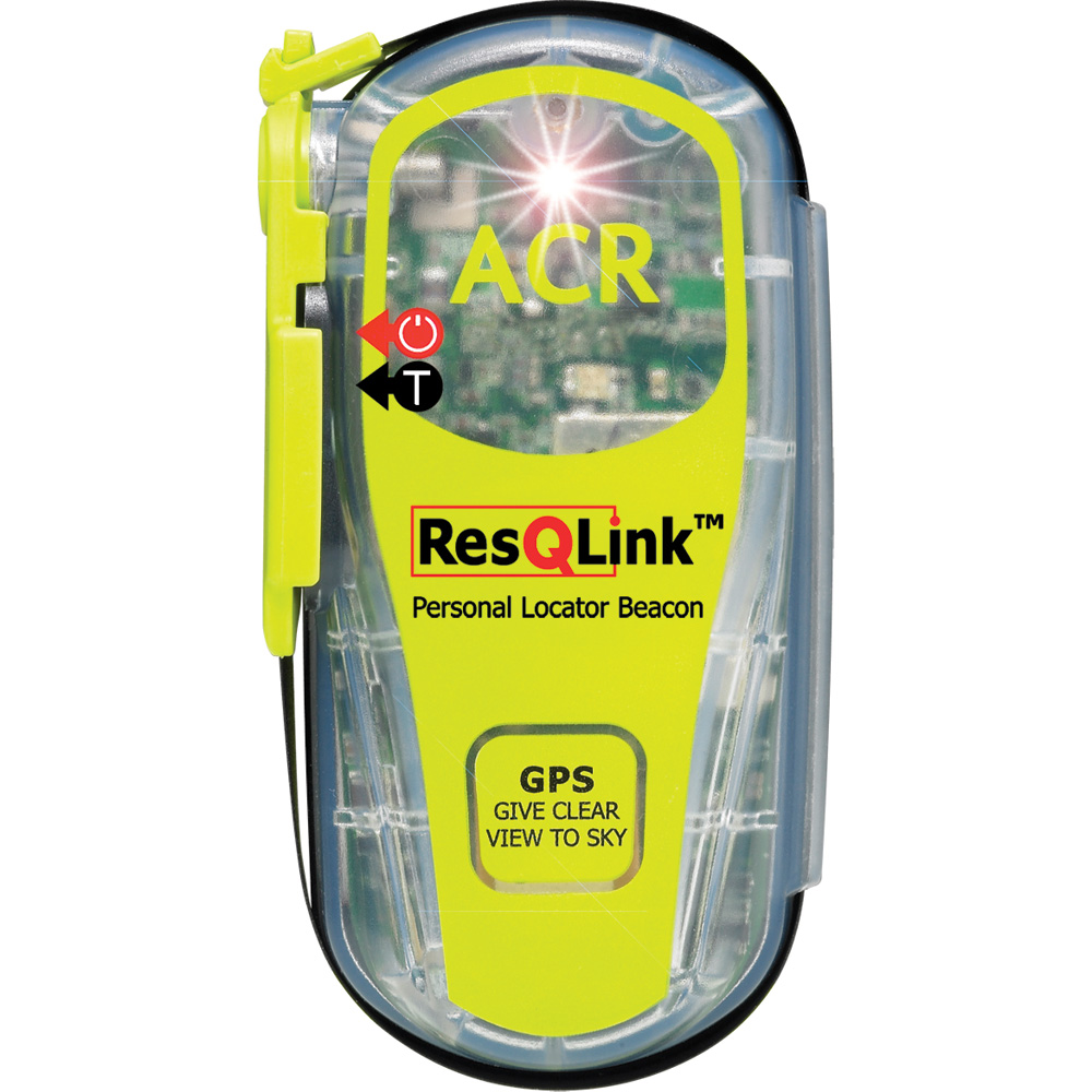 ResQ Link PLB, GPS, Strobe, 30hr, Mini