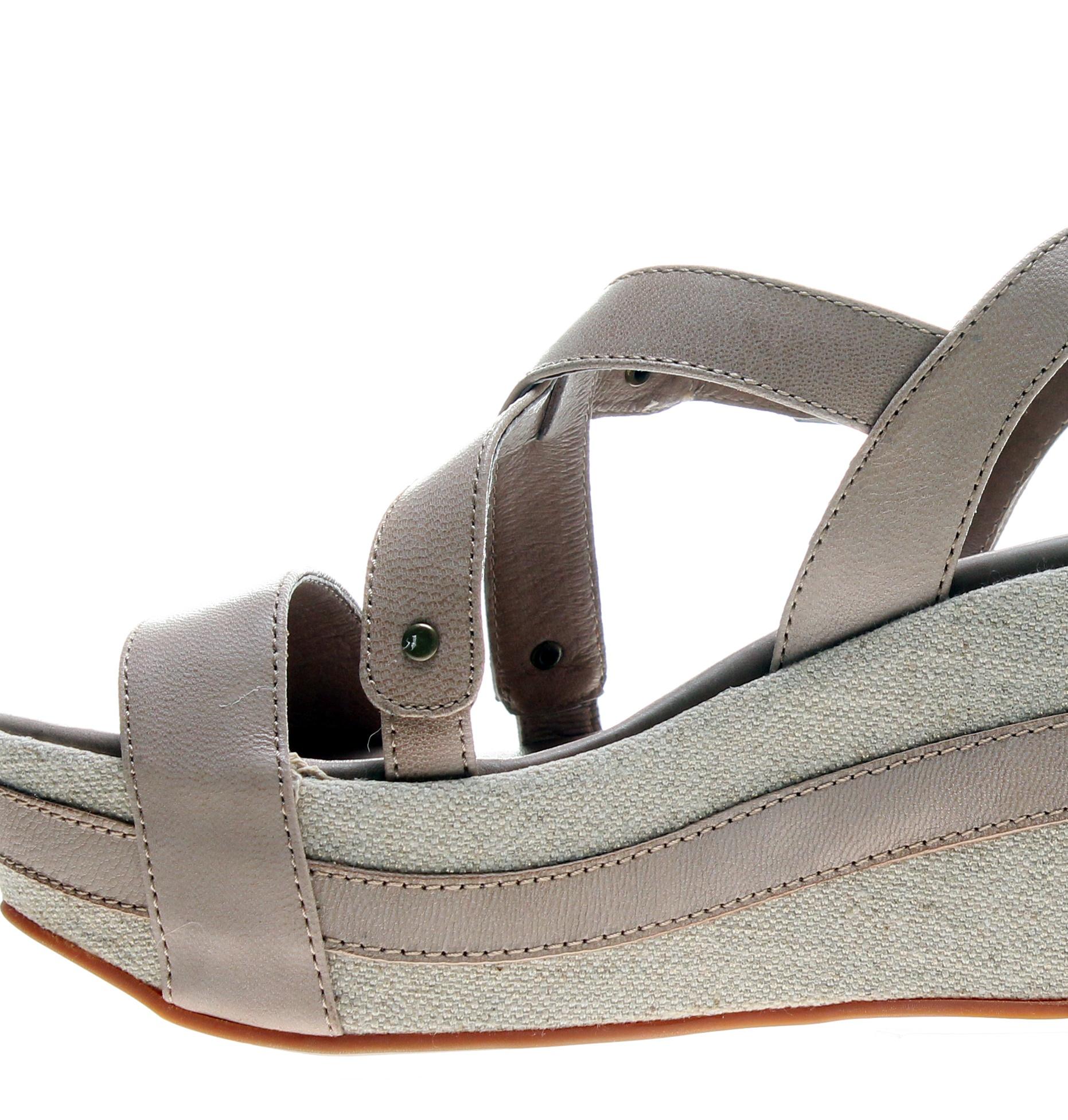 Antelope 821 Slingback Makeup Women's Wedge Sandals 821-MAKEUP