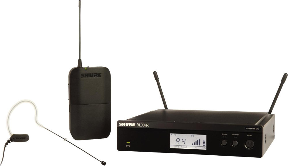 BLX14R MX53 Wireless Headset System with MX153 Headset Mic by Shure