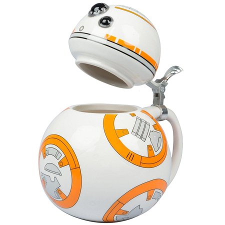 - Star Wars The Force Awakens BB-8 22-oz Ceramic Stein