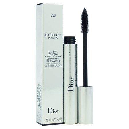 DiorShow Iconic High Definition Lash Curler Mascara # 090 Black by Christian Dior for Women - 0.33 oz (Best Christian Dior Mascara)