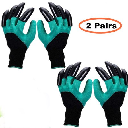Garden Genie Gloves, Waterproof Garden Gloves with Claw For Digging Planting, Best Gardening Gifts for Women and Men.