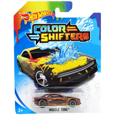 Hot Wheels Color Shifters Muscle Tone Die-Cast Car
