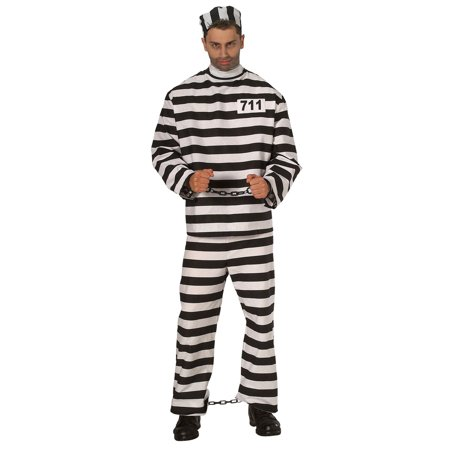 Halloween Convict Costumes (Halloween Convict Adult)