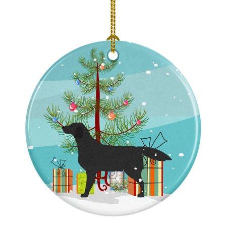 Labrador Retriever Christmas Tree (Black Labrador Retriever Merry Christmas Tree Ceramic)
