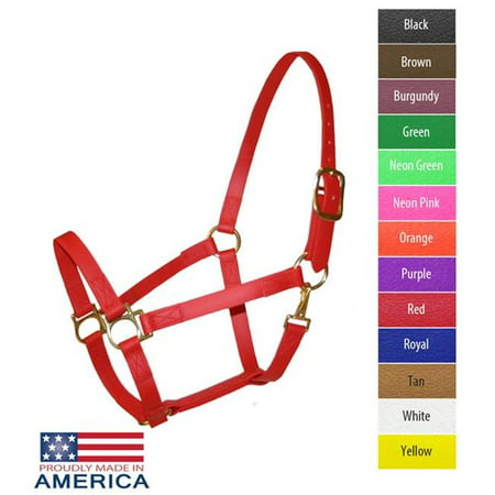 Pink Horse Costume (Feather-Weight FW3426-NP-7 Beta 1 in. Track Halter, Neon Pink -)