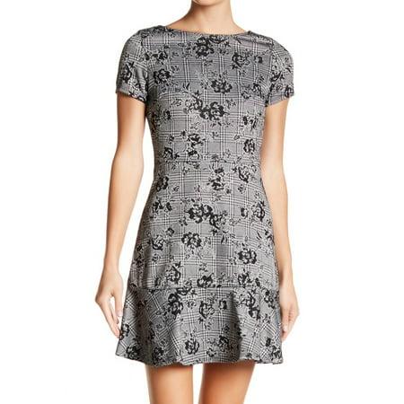 Womens Medium Jacquard Shift Dress M