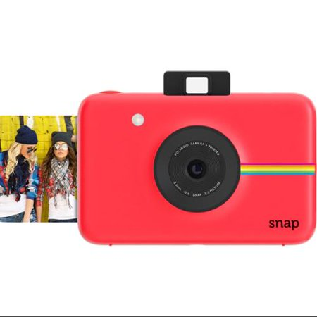Polaroid Snap Instant Digital Camera (Red) wih ZINK Zero Ink Printing (Best Polaroid Camera Of All Time)