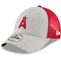 online retailer 10c4e e062f Product Image Los Angeles Angels New Era Turn Trucker 9FORTY Adjustable  Snapback Hat - Heathered Gray Red