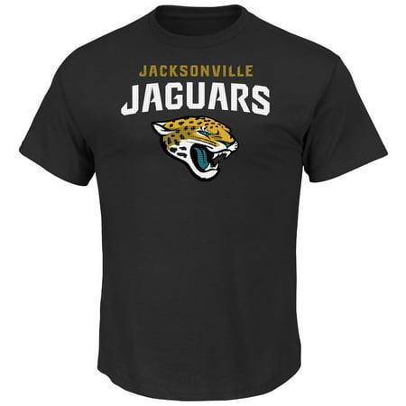 "Jacksonville Jaguars Majestic NFL ""Critical Victory 2"" Mens T-Shirt Black by"
