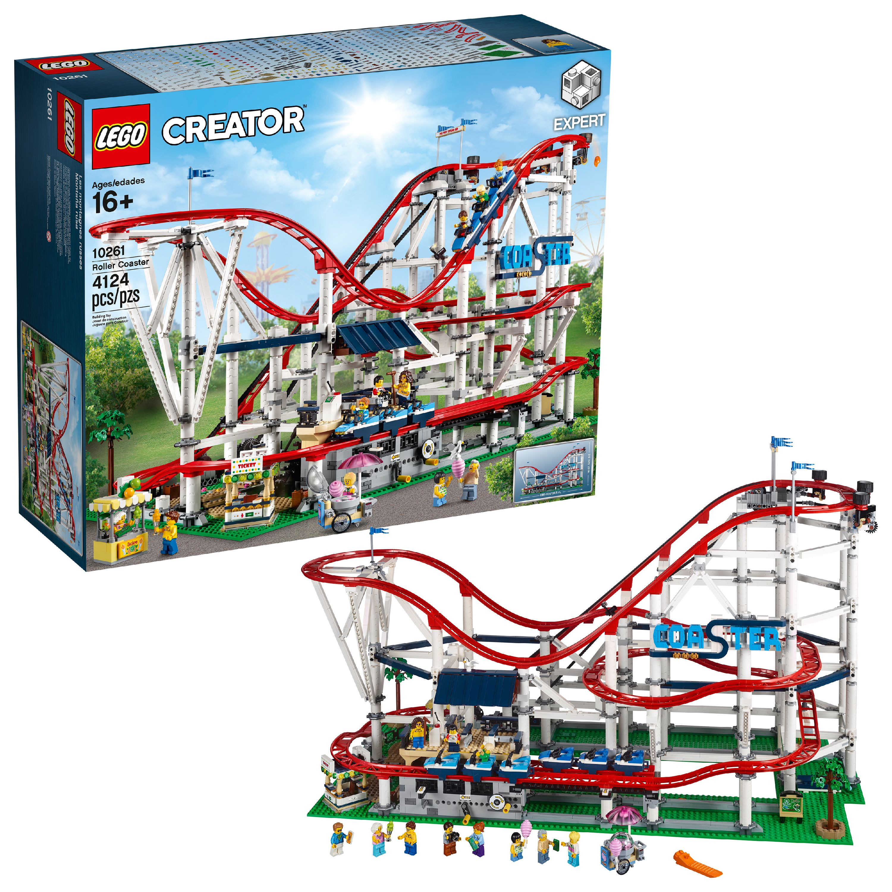 Lego Creator Expert Roller Coaster 10261 Toy of the Year 2019 by LEGO System Inc