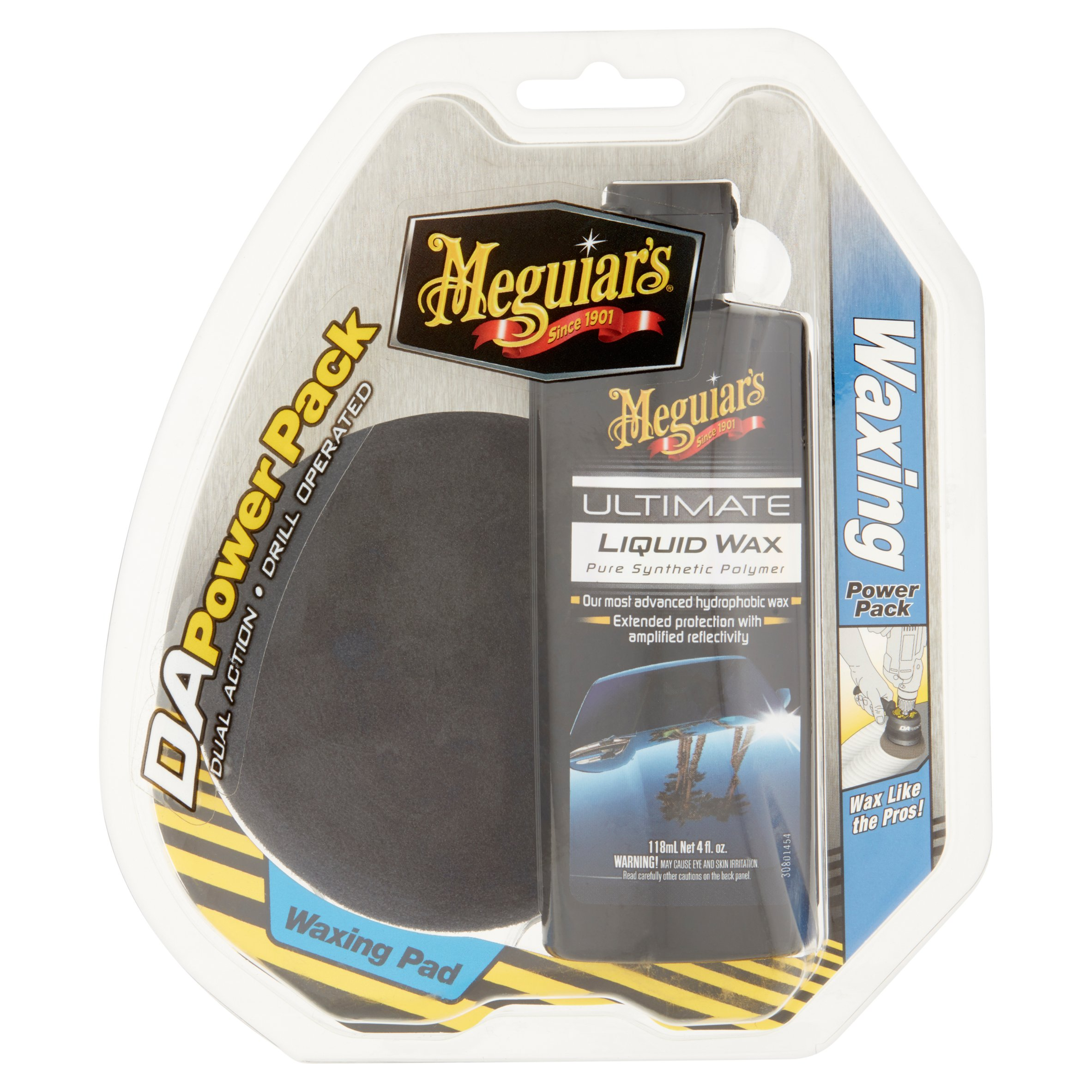 Meguiar's DA Power Pack Ultimate Liquid Wax and Waxing Pad