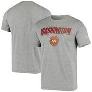 Washington Football Team New Era Combine Stated Poly T-Shirt - Heather Charcoal