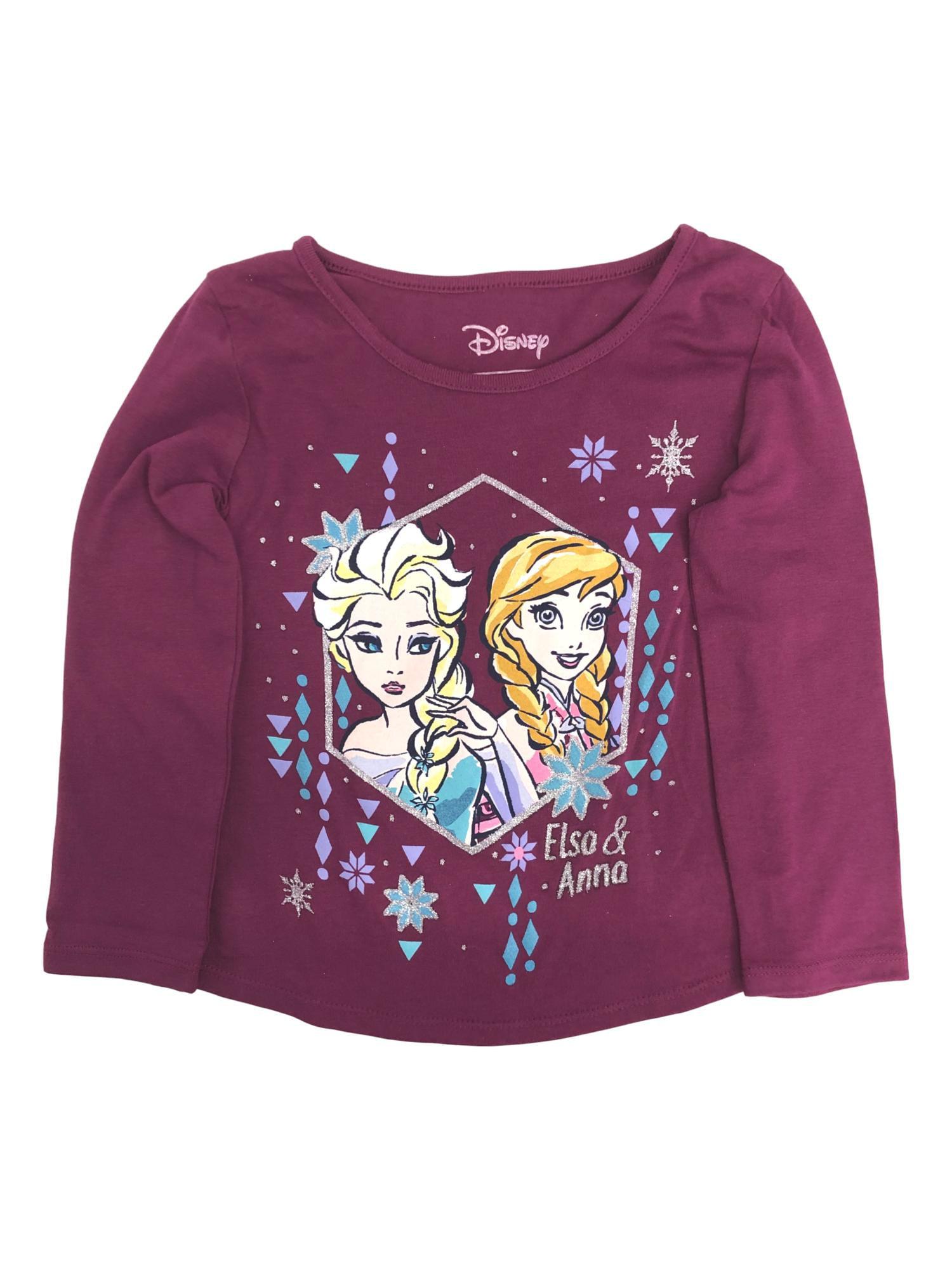 2 t-shirt Frozen Frozen Anna e Elsa