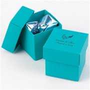 Hortense b Hewitt 10843P Palm 2 piece Favor Boxes - personalized