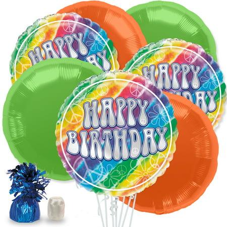 Tie Dye Balloon Bouquet Kit (Tie Dye Balloons)