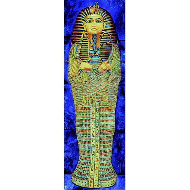 MCDONALD PUBLISHING MC-V1606 COLOSSAL POSTER EGYPTIAN MUMMY-GR.  4-9+ OVER 5-1/2 TALL