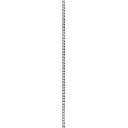 925 Sterling Silver 1.25mm Diamond-cut Franco Chain - image 2 de 5